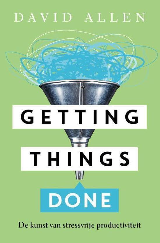 Aanbevelingen van Vind je coach: boek Getting things done